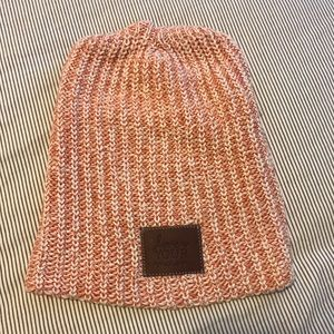 Love your melon hat- orange/peach color